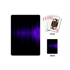 Lights Playing Cards (mini)  by ValentinaDesign