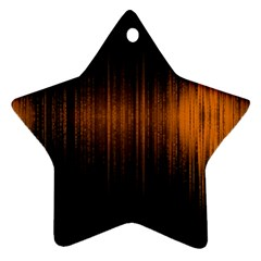 Light Star Ornament (two Sides) by ValentinaDesign