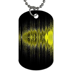 Light Dog Tag (two Sides) by ValentinaDesign