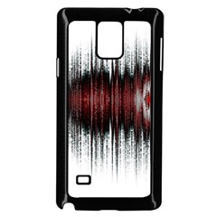 Light Samsung Galaxy Note 4 Case (black) by ValentinaDesign