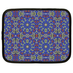 Colorful Ethnic Design Netbook Case (xl)  by dflcprints