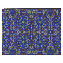Colorful Ethnic Design Cosmetic Bag (xxxl)  by dflcprints