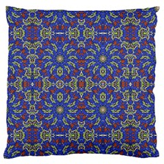Colorful Ethnic Design Standard Flano Cushion Case (one Side) by dflcprints