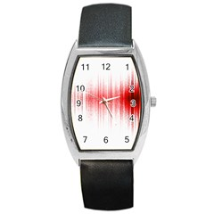 Light Barrel Style Metal Watch by ValentinaDesign