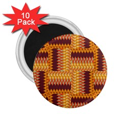 Geometric Pattern 2 25  Magnets (10 Pack)  by linceazul