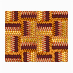 Geometric Pattern Small Glasses Cloth (2 Side) by linceazul