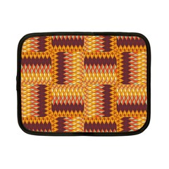 Geometric Pattern Netbook Case (small)  by linceazul