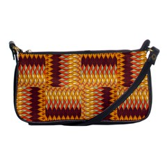 Geometric Pattern Shoulder Clutch Bags by linceazul