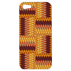 Geometric Pattern Apple Iphone 5 Hardshell Case by linceazul