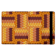 Geometric Pattern Apple Ipad 3/4 Flip Case by linceazul