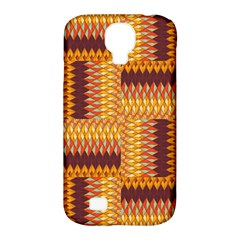 Geometric Pattern Samsung Galaxy S4 Classic Hardshell Case (pc+silicone) by linceazul