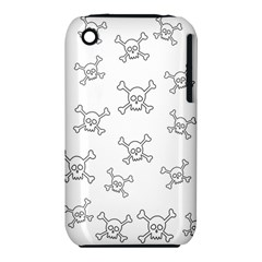 Skull Pattern Iphone 3s/3gs by ValentinaDesign