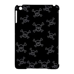 Skull Pattern Apple Ipad Mini Hardshell Case (compatible With Smart Cover) by ValentinaDesign