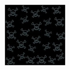 Skull Pattern Medium Glasses Cloth (2 Side) by ValentinaDesign