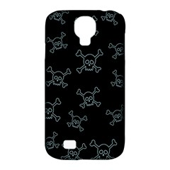 Skull Pattern Samsung Galaxy S4 Classic Hardshell Case (pc+silicone) by ValentinaDesign