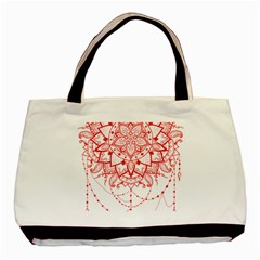 Mandala Pretty Design Pattern Basic Tote Bag by Nexatart