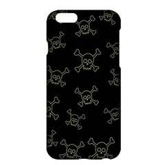 Skull Pattern Apple Iphone 6 Plus/6s Plus Hardshell Case by ValentinaDesign