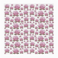 Lotus Medium Glasses Cloth (2 Side) by ValentinaDesign
