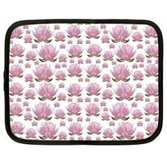 Lotus Netbook Case (xxl)  by ValentinaDesign