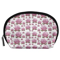 Lotus Accessory Pouches (large)  by ValentinaDesign