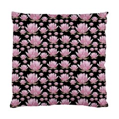 Lotus Standard Cushion Case (two Sides) by ValentinaDesign