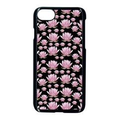 Lotus Apple Iphone 7 Seamless Case (black) by ValentinaDesign
