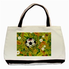 Ball On Forest Floor Basic Tote Bag (two Sides) by linceazul