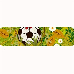 Ball On Forest Floor Large Bar Mats by linceazul
