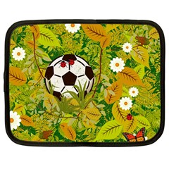 Ball On Forest Floor Netbook Case (large) by linceazul