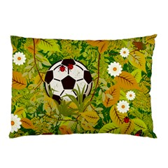Ball On Forest Floor Pillow Case by linceazul