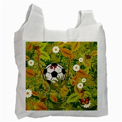 Ball On Forest Floor Recycle Bag (two Side)  by linceazul