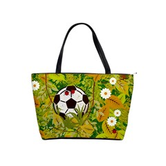 Ball On Forest Floor Shoulder Handbags by linceazul