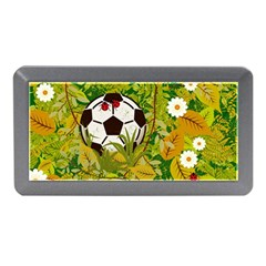 Ball On Forest Floor Memory Card Reader (mini) by linceazul