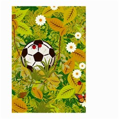 Ball On Forest Floor Small Garden Flag (two Sides) by linceazul