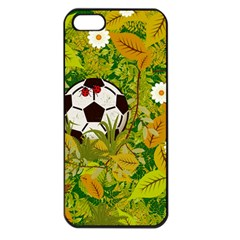 Ball On Forest Floor Apple Iphone 5 Seamless Case (black) by linceazul
