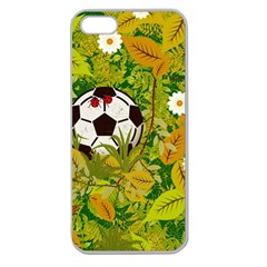 Ball On Forest Floor Apple Seamless Iphone 5 Case (clear) by linceazul