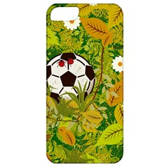 Ball On Forest Floor Apple Iphone 5 Classic Hardshell Case by linceazul