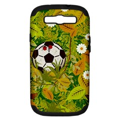 Ball On Forest Floor Samsung Galaxy S Iii Hardshell Case (pc+silicone) by linceazul