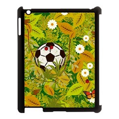 Ball On Forest Floor Apple Ipad 3/4 Case (black) by linceazul