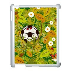 Ball On Forest Floor Apple Ipad 3/4 Case (white) by linceazul
