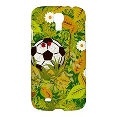 Ball On Forest Floor Samsung Galaxy S4 I9500/i9505 Hardshell Case by linceazul