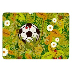 Ball On Forest Floor Samsung Galaxy Tab 8 9  P7300 Flip Case by linceazul