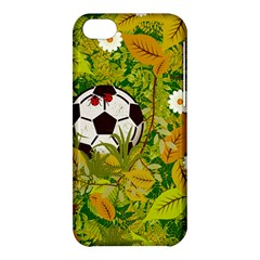 Ball On Forest Floor Apple Iphone 5c Hardshell Case by linceazul