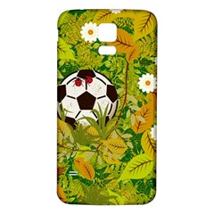 Ball On Forest Floor Samsung Galaxy S5 Back Case (white) by linceazul