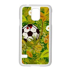 Ball On Forest Floor Samsung Galaxy S5 Case (white) by linceazul