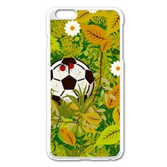 Ball On Forest Floor Apple Iphone 6 Plus/6s Plus Enamel White Case by linceazul