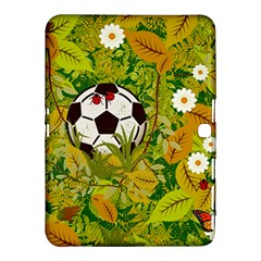 Ball On Forest Floor Samsung Galaxy Tab 4 (10 1 ) Hardshell Case  by linceazul