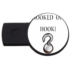 Hooked On Hook! Usb Flash Drive Round (4 Gb) by badwolf1988store