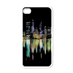 City Panorama Apple Iphone 4 Case (white) by Valentinaart