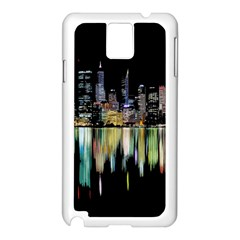 City Panorama Samsung Galaxy Note 3 N9005 Case (white)